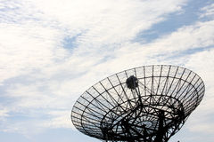 A Radio Telescope In The Netherlands Stock Photo