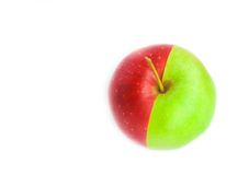 A Red-green Apple Stock Photo