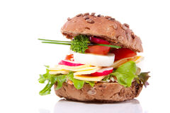 Free A Rich Healthy Brown Sandwich Stock Image - 14605021