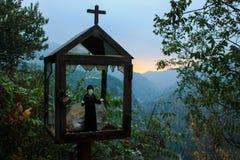 A Roadside Shrine Close To The Qadisha Valley In Lebanon That Ha Stock Image