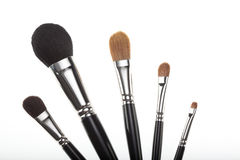 Free A Set Of 5 Make-up Brushes In A Fan Composition. Stock Photography - 16985602