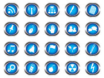 Free A Set Of Buttons Stock Photos - 19797583