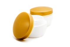 A Set Of Cosmetic Creams Stock Photos