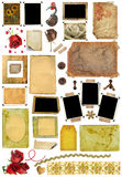 A Set Of Scrap Elements, Photo Edges Royalty Free Stock Photography