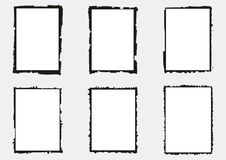 Free A Set Of Vectorized Grungy Photography Frames Stock Images - 70808764