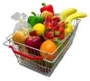 A Shopping Basket Stock Photos