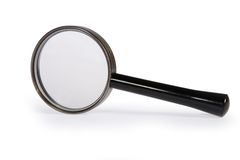A Simple Magnifying Glass Royalty Free Stock Images