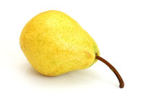 A Single Pear Stock Photo