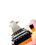 A Six String Electric Guitar Isolated On A White Royalty Free Stock Image