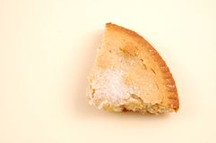 Free A Slice Of Apple Pie On A Pink Background. Stock Images - 3863704