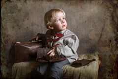 A Small Child Of Wartime Royalty Free Stock Images