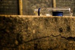 Free A Small,empty Wodka Bottle Royalty Free Stock Photography - 168363757
