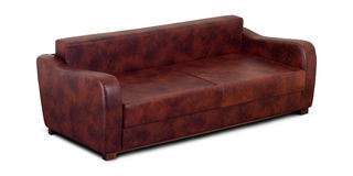 A Small Leather Sofa Royalty Free Stock Image