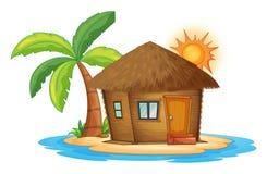 Free A Small Nipa Hut In The Island Stock Photo - 43523880