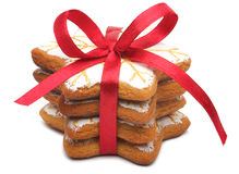 A Stack Of Christmas Cookies Royalty Free Stock Photography