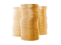 A Stack Of Coins Stock Photography