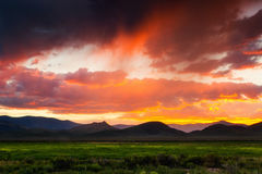 Free A Stormy Sunset Royalty Free Stock Images - 77988959