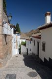 A Street In Granada Royalty Free Stock Image