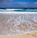 A Summer Scene,Beach And Waves,coastline Stock Photo