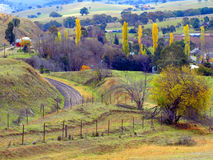 A Town Called Carcoar Stock Photography