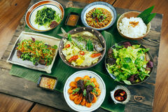 Free A Traditional Vietnamese Tray Of Meal For Dinner Or Lunch Royalty Free Stock Photos - 77376348