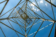 Free A Transmission Tower Or Power Tower Royalty Free Stock Photos - 140874318