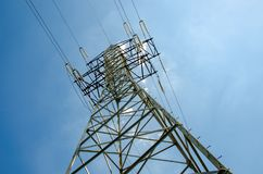 Free A Transmission Tower Or Power Tower Royalty Free Stock Image - 140874336