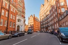 Free A Typical View In Kensington In London Royalty Free Stock Photography - 128235167