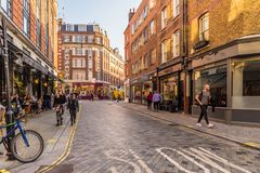 Free A Typical View In London Royalty Free Stock Image - 129143126