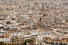 A Vast Sea Of Rooftops Across A Paris Cityscape Royalty Free Stock Image