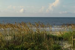 A View From The Dunes At Myrtle Beach Royalty Free Stock Photo