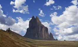 A View Of Shiprock In New Mexico Stock Photo