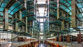Free A View Of The Inside Of The Biblioteca Vasconcelos Library In Mexico City Stock Photography - 113379072