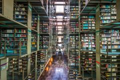 Free A View Of The Inside Of The Biblioteca Vasconcelos Library In Mexico City Royalty Free Stock Photography - 123235157