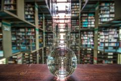 Free A View Of The Inside Of The Biblioteca Vasconcelos Library In Mexico City, Mexico. Royalty Free Stock Photo - 113379055