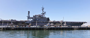 Free A View Of The Starboard Side Of The USS Midway, San Diego Royalty Free Stock Photos - 96985788