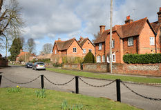 A Village Street In Rural England Royalty Free Stock Photo