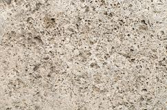 A Wall From Natural Stone Travertine Stock Photos