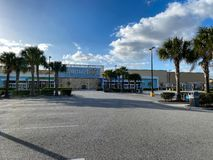 Free A Walmart On A Sunny Christmas Day With An Empty Parking Lot Royalty Free Stock Photo - 168260885