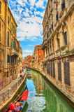 A Water Canal Venice Royalty Free Stock Photo