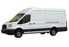Free A White Van .Isolated With PNG File Included Royalty Free Stock Image - 86755086