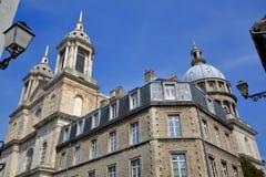 Free A Wide-angle View Of The Basilica Of Notre Dame In Boulogne Sur Mer, Cote D`Opale, Pas De Calais, Hauts De France Stock Photos - 99286633