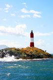 A Windy Lighthouse Stock Image