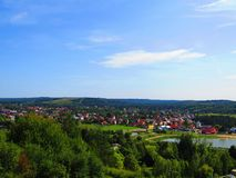 Free A Wonderful Scenary Of Krasnobrod City, Lake And Nature In Poland Stock Photo - 163504530