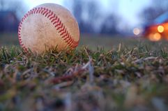 Free A Worn Baseball Stock Images - 33970744