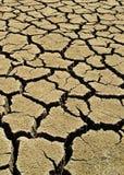 a1 трескает грязь Стоковая Фотография RF