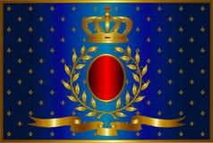 A1.2 blauw royalty-vrije illustratie