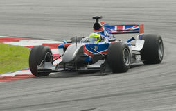 A1 driver Danny Watts of A1 Team Great Britain Stock Images