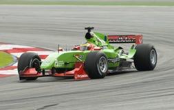 A1 driver Filipe Albuquerque of A1 Team Portugal Stock Image