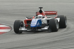 A1 driver Marco Andretti of A1 Team USA in action Stock Image